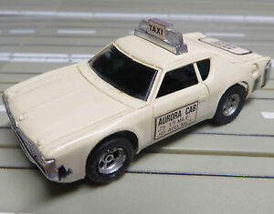 For Slotcar Racing Model Railway Matador Airport Service Taxicab With AFX