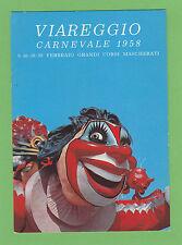 5775) Viareggio Carnevale 1958 - Pubblicità dentifricio Squibb - non viaggiata -
