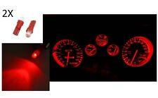 2X LUCES DE ESTACIONAMIENTO LÁMPARA LED ROJO T5 bombilla coche 12V luz cabina