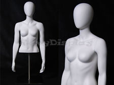 Table Top Egghead Female Mannequin Torso Display #Md-Egtfsa