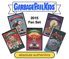 2015 Garbage Pail Kids Fan Set 5 V GPK with Promo 31 Total Cards Factory Sealed