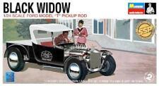 "Monogram 85-0060 Black Widow Ford ""T"" Pickup Rod 1/24 Model Kit Factory Sealed"