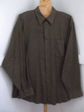 Mens Multicolor Geometric Print Long Sleeve Button-Down Shirt Sz.XL By Claiborne