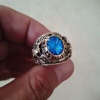US Military Academy West Point Rings 1968  , Sapphire Stone , 10k