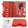 "94PC 1/2"" 1/4"" Socket Set Screwdriver Bit Tools Torx Ratchet Driver With Cases"