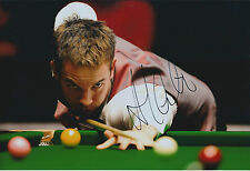 Ali CARTER AUTOGRAPH 12x8 Signed Photo AFTAL COA SNOOKER Authentic Genuine