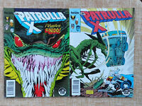 Comics, La Patrulla X, nº 82 y 83, Forum, Marvel, Chris Claremont, 1989, Planeta
