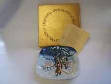 Christmas Around World Norway 1975 Royal Doulton plate