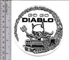Snowmobile Bolens Diablo Rouge Hus-Ski Promo Patch Pte Claire, Quebec Canada bla