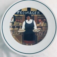 L'Etalage Collection Shopkeepers THE CHEESE LADY Plate