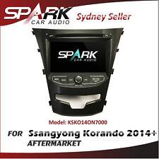 "7"" GPS SAT NAV NAVIGATION DVD IPOD BLUETOOTH RADIO FOR Ssangyong KORANDO 2014+"