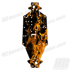 Arrma Outcast 6S Chassis Protector Orange Flames #AR320188