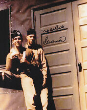 Band of Brothers Wild Bill Guarnere SIGNED 8x10 PHOTO D-Day, Bulge WWII 101st AB