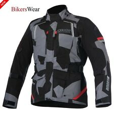 New Alpinestars Andes v2 Drystar all weather waterproof Motorbike Jacket Camo 3X