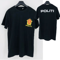 Norway Politi Special Rescue Unit Delta Force  T shirt men USA size S-3XL