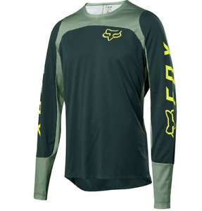Fox racing defend ls fox jersey emerald 2021 maglia mtb bike downhill new L