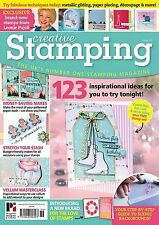 CREATIVE STAMPING ISSUE 36 + FREE STAMP COLLECTION WINTER WONDERLAND