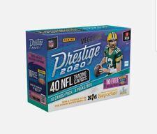 2020 Panini Prestige Football HOBBY MEGA BOX - 2 Autos!! Burrow Auto? HOT🔥🔥🔥