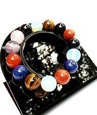 Bracelet en Quartz Multicolore en Pierre Naturelle Lithothérapie Minéral Bijoux