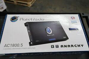 Planet Audio AC1800.5 5 Channel Car Amplifier, 1800 Watts