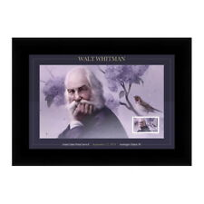 USPS New Walt Whitman Framed Stamps
