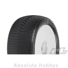 """Pro-Line Hole Shot VTR 4.0"""" X3 (Soft) Off-Road 1:8 Truck Tires Mounted w/ White"""