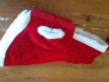 Medium Size Santa Dog Jacket Small Dog