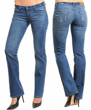 Mid-Rise Regular Size Boot Cut Jeans for Women