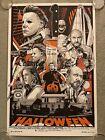 Halloween John Carpenter Michael Myers Mondo Movie Art Print Poster Tyler Stout