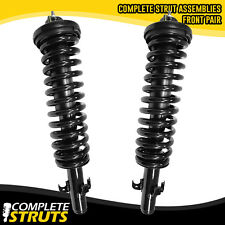 97-99 Acura CL Front Complete Strut & Coil Spring Assemblies w/ Mounts Pair
