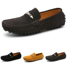 Men's Faux Leather Shoes Pumps Slip on Loafers Driving Moccasins Flats Casual L