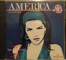 AMERICA Rosa De Un Aroma Ex VIVAVOZ - Rarisimo En Copia CD remasterizado