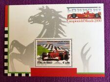 REPUBBLICA 2001  FOGLIETTO LA FERRARI CAMPIONE DEL MONDO NUOVO