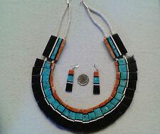SANTO DOMINGO Delbert Crespin Necklace & Earrings, HUGE, BOLD, Gorgeous, #fon