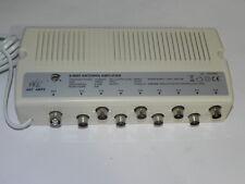 Amplificatore antenna TV alimentato da interno 8 uscite di linea ANT AMP8