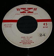 Gisele MacKenzie 45 Hard To Get / Boston Fancy 1955 X Pop Vinyl Record VG to VG+