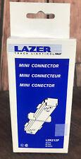 HALO LAZER TRACK LIGHTING MINI CONNECTOR LZR212MB NEW - White