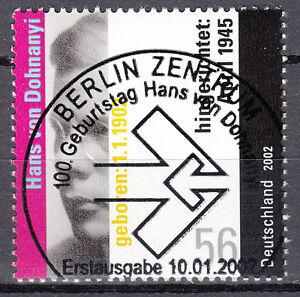 BRD 2002 Mi. Nr. 2233 gestempelt BERLIN Sonderstempel , mit Gummi (17663)