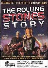 THE ROLLING STONES STORY LIVERPOOL EMPIRE 19 OCT 2018 PROMO FLYER!!