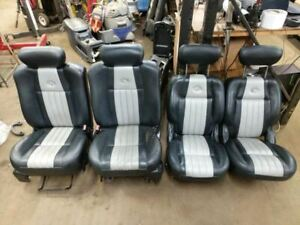 2001-2003 FORD F150 HARLEY DAVIDSON Seats Front And Rear