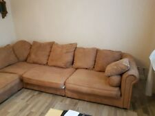 Sofa - Couch mit Rundecke + Sessel