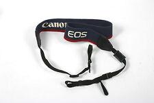 Canon EOS authentique épaule cou sangle pour DSLR Appareil photo argentique utilisé