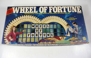 Vintage Game WHEEL OF FORTUNE 1st Edition Pressman #5555 Merv Griffin ©1985