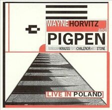 """WAYNE HORVITZ & Pigpen """"Live in Poland"""" CD NEW"""