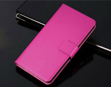 Genuine Leather Flip Wallet Case Cover Card Holder For Samsung Galaxy Series