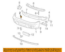 GM OEM Front Bumper-Energy Absorber Retainer 10077283