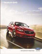 2013 13  Ford Taurus  & SHO  original brochure MINT