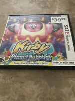 Kirby Planet Robobot (Nintendo 3DS, 2016)- Fast Free Shipping - Display Box