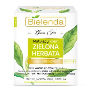 BIELENDA MATTIFYING Pore Minimizing GREEN TEA Normalizing NIGHT CREAM 50ml