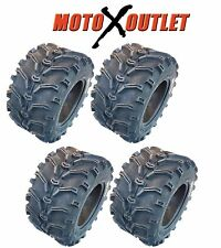 KENDA Bear Claw ATV Tires 25x8-12 25x10-12 Front Rear NEW 6 PR UTV Set of 4 K299
